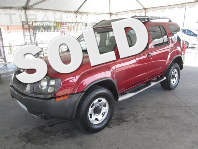 2004 Nissan Xterra XE Please call or e-mail to check availability All of our vehicles are avail