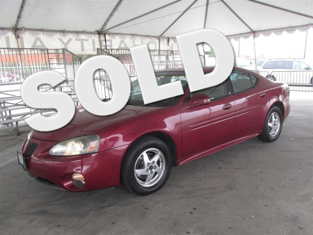 2004 Pontiac Grand Prix GT2 Please call or e-mail to check availability All of our vehicles are