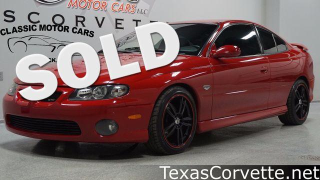 2004 Pontiac GTO  | Lubbock, Texas | Classic Motor Cars