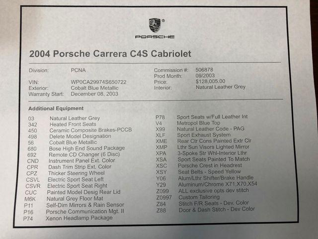 2004 Porsche 911 Carrera 4S Longwood, FL 50
