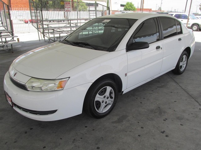 2004 Saturn Ion ION 1 This particular Vehicles true mileage is unknown TMU Please call or e-ma