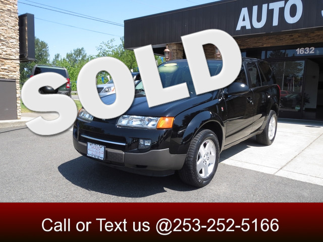 2004 Saturn VUE V6 AWD The CARFAX Buy Back Guarantee that comes with this vehicle means that you c