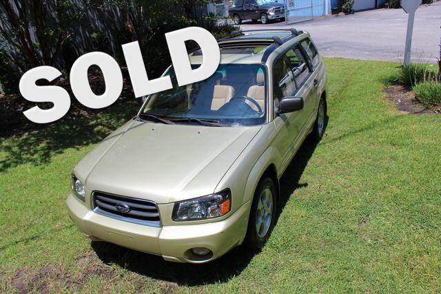 2004 Subaru Forester XS w/Premium Pkg   Charleston, SC   Charleston Auto Sales in Charleston SC
