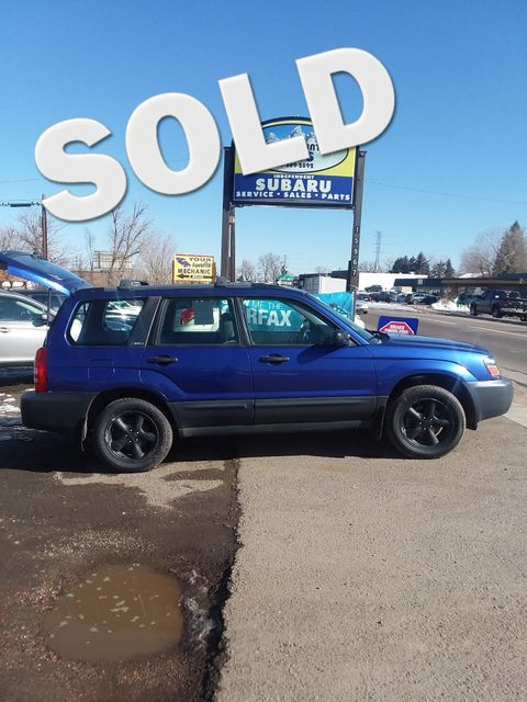 2004 Subaru Forester X= REBUILT ENGINE=NEW CLUTCH Golden, Colorado 0