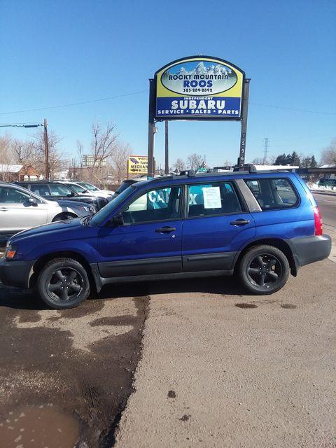 2004 Subaru Forester X= REBUILT ENGINE=NEW CLUTCH Golden, Colorado 4