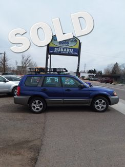 2004 Subaru Forester NEW TIMING BELT AND WATER PUMP!! XS Golden, Colorado