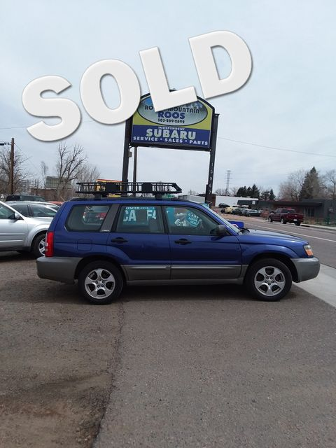 2004 Subaru Forester NEW TIMING BELT AND WATER PUMP!! XS Golden, Colorado 0