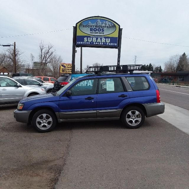 2004 Subaru Forester NEW TIMING BELT AND WATER PUMP!! XS Golden, Colorado 3