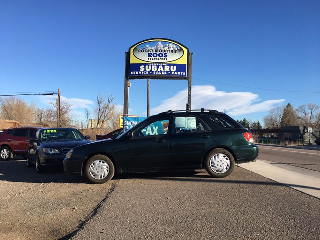 2004 Subaru Impreza TS SPORT, 30 DAY POWERTRAIN WARRANTY!! Golden, Colorado 3