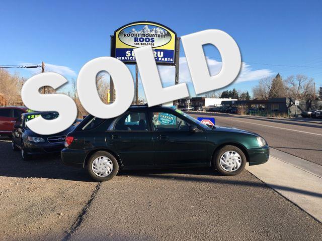 2004 Subaru Impreza TS SPORT, 30 DAY POWERTRAIN WARRANTY!! Golden, Colorado 0