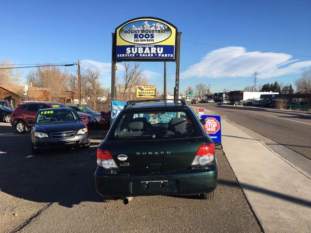 2004 Subaru Impreza TS SPORT, 30 DAY POWERTRAIN WARRANTY!! Golden, Colorado 2