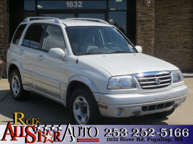 2004 Suzuki Grand Vitara LX 4WD The CARFAX Buy Back Guarantee that comes with this vehicle means t