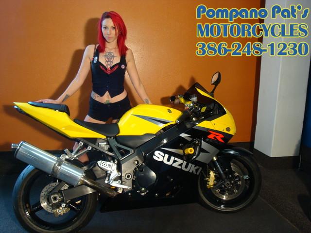 2004 Suzuki GSXR 750 Daytona Beach, FL 0