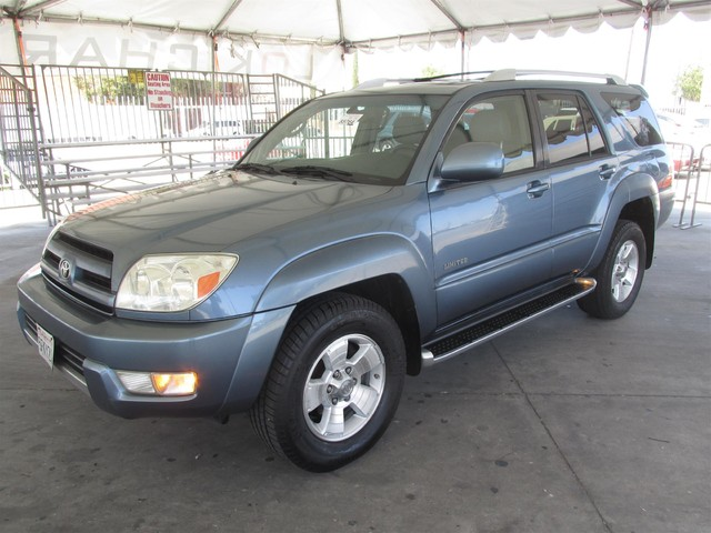2004 Toyota 4Runner Limited Please call or e-mail to check availability All of our vehicles are