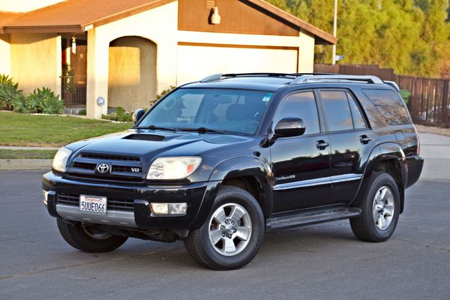 2004 Toyota 4RUNNER SR5 4WD AUTOMATIC SERVICE RECORDS ALLOY WHLS Woodland Hills, CA 2