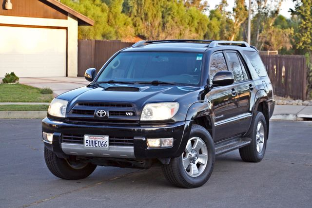 2004 Toyota 4RUNNER SR5 4WD AUTOMATIC SERVICE RECORDS ALLOY WHLS Woodland Hills, CA 30