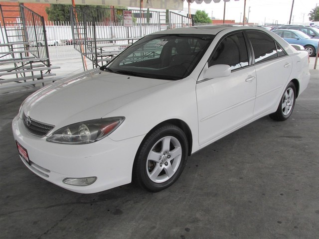 2004 Toyota Camry SE Please call or e-mail to check availability All of our vehicles are availa