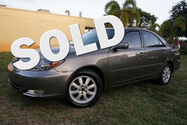 2004 Toyota Camry SE in Lighthouse Point FL