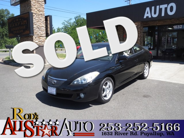 2004 Toyota Camry Solara SE The CARFAX Buy Back Guarantee that comes with this vehicle means that