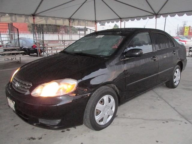 2004 Toyota Corolla CE Please call or e-mail to check availability All of our vehicles are avail