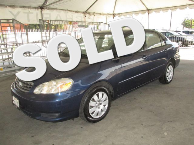 2004 Toyota Corolla CE This particular Vehicles true mileage is unknown TMU Please call or e-m