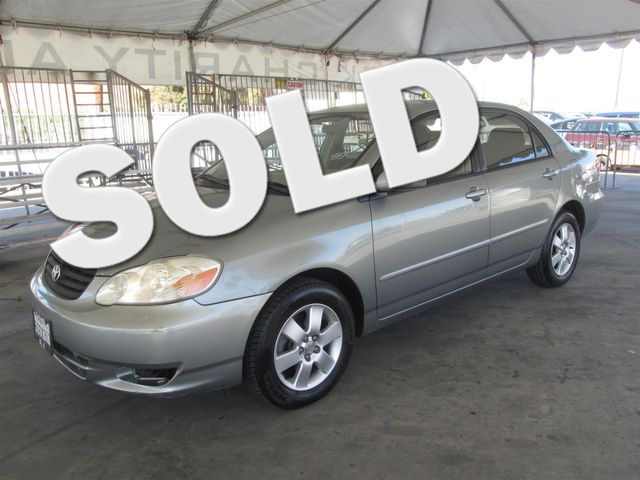 2004 Toyota Corolla LE This particular Vehicles true mileage is unknown TMU Please call or e-m