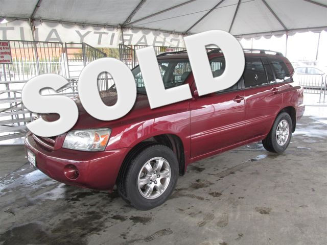 2004 Toyota Highlander This particular Vehicle comes with 3rd Row Seat Please call or e-mail to c