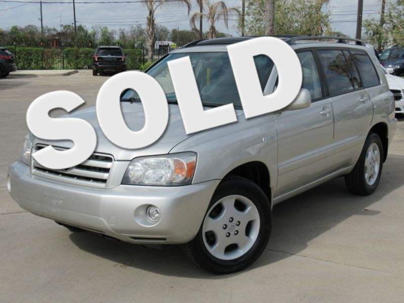 Toyota Highlander Limited WD W Rd Row Houston TX - 2004 highlander