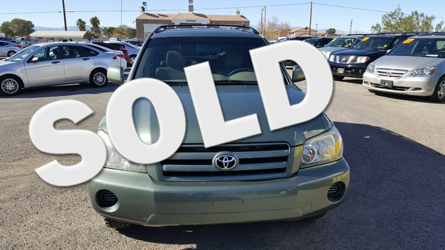 Used Cars in Las Vegas 2004 Toyota Highlander