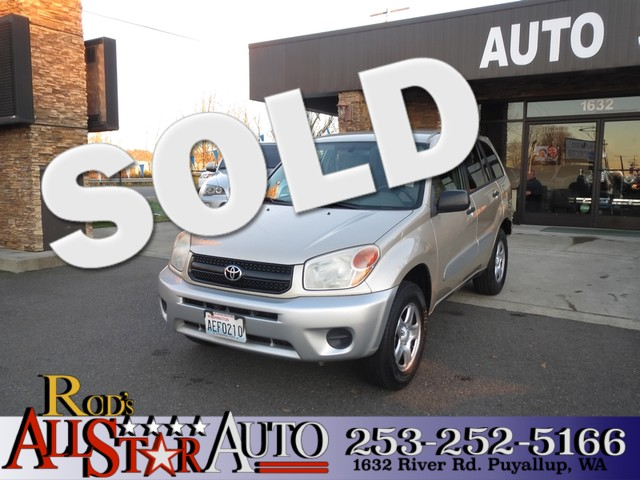 2004 Toyota RAV4 The CARFAX Buy Back Guarantee that comes with this vehicle means that you can buy