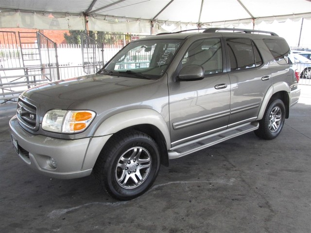 2004 Toyota Sequoia SR5 This particular Vehicle comes with 3rd Row Seat Please call or e-mail to