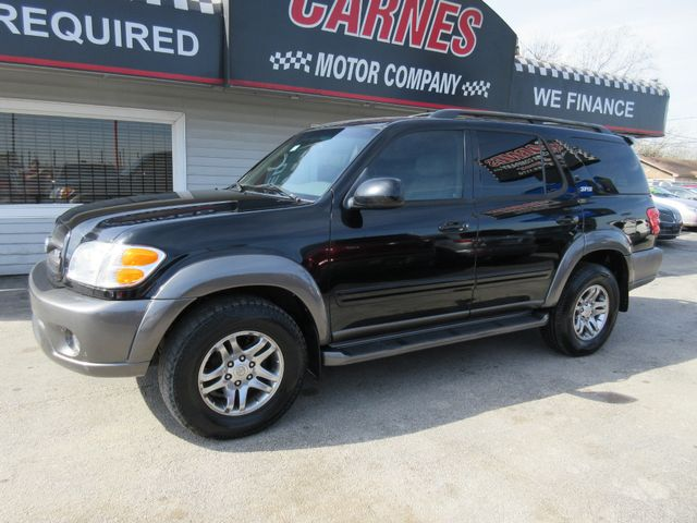 2004 Toyota Sequoia, PRICE SHOWN IS THE DOWN PAYMENT south houston, TX 1