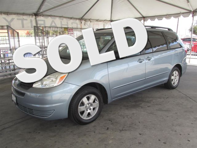 2004 Toyota Sienna LE This particular Vehicles true mileage is unknown TMU Please call or e-ma