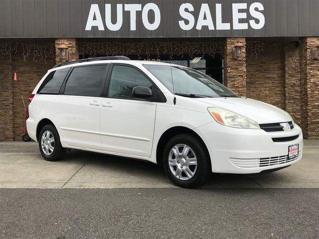 2004 Toyota Sienna LE New Price White 2004 Toyota Sienna LE FWD 5-Speed Automatic with Overdrive