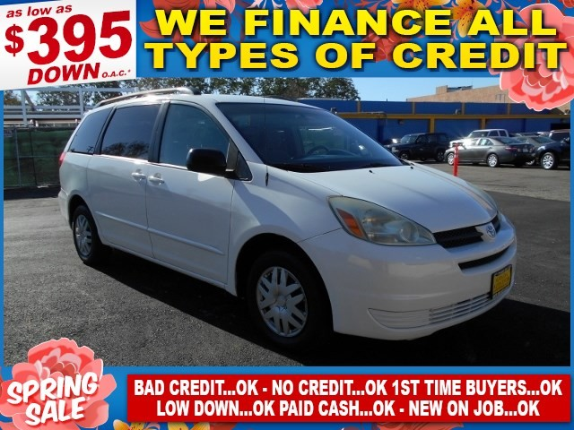 2004 Toyota Sienna CE Limited warranty included to assure your worry-free purchase AutoCheck repo