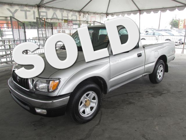 2004 Toyota Tacoma This particular vehicle has a SALVAGE title Please call or email to check avai
