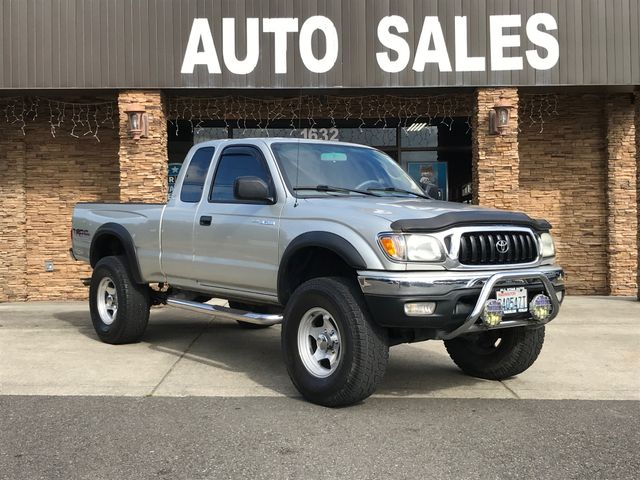 2004 Toyota Tacoma PreRunner Clean CARFAX Silver 2004 Toyota Tacoma PreRunner V6 RWD 4-Speed Auto