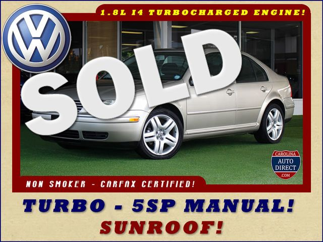 2004 Volkswagen Jetta GLS - SUNROOF - TURBO - 5SP MANUAL! Mooresville , NC 0