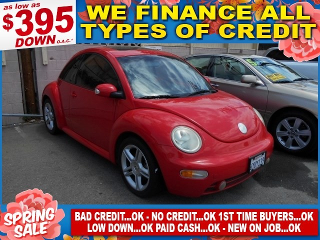 2004 Volkswagen New Beetle GLS Limited warranty included to assure your worry-free purchase AutoC