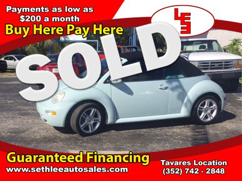 2004 Volkswagen New Beetle GLS Turbo in Tavares, FL