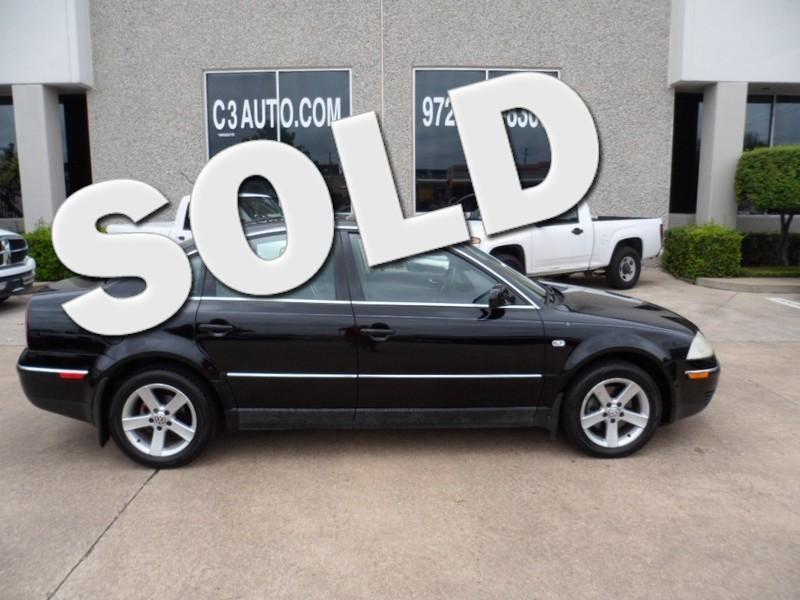 2004 Volkswagen Passat GLX in Plano Texas