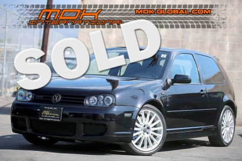 2004 Volkswagen R32 - Leather pkg - 1/750 made in Black Magic Pearl in Los Angeles