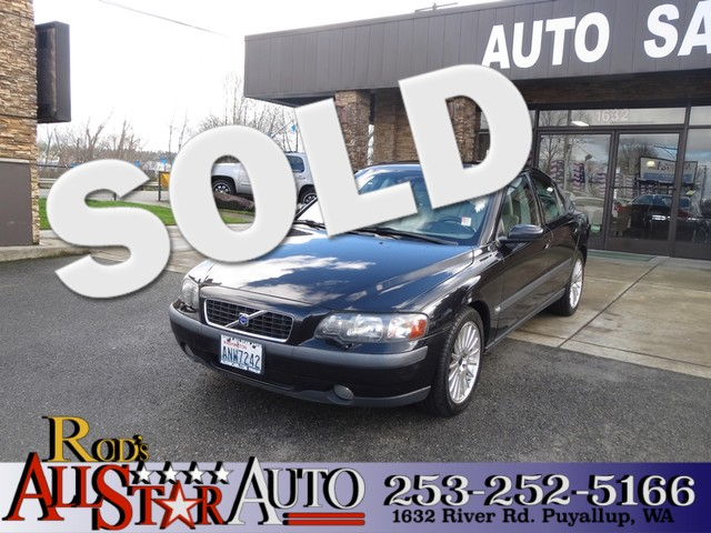 2004 Volvo S60 The CARFAX Buy Back Guarantee that comes with this vehicle means that you can buy w