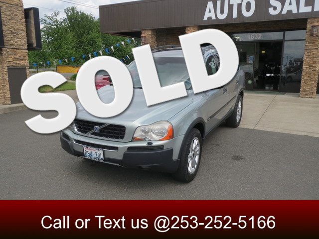 2004 Volvo XC90 The CARFAX Buy Back Guarantee that comes with this vehicle means that you can buy