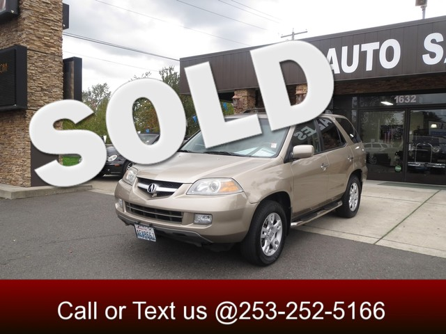 2005 Acura MDX Touring AWD The CARFAX Buy Back Guarantee that comes with this vehicle means that y