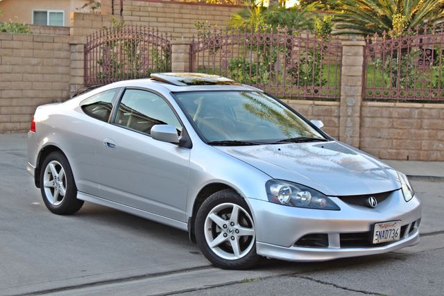 2005 Acura RSX SPORT 2D HATCHBACK AUTOMATIC ONLY 74K ORIGINAL MLS SERVICE RECORDS NEW TIRES Woodland Hills, CA 8
