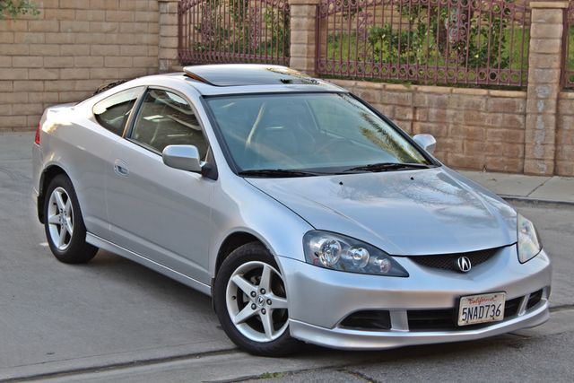 2005 Acura RSX SPORT 2D HATCHBACK AUTOMATIC ONLY 74K ORIGINAL MLS SERVICE RECORDS NEW TIRES Woodland Hills, CA 9