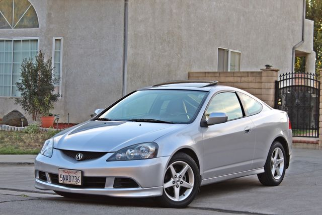 2005 Acura RSX SPORT 2D HATCHBACK AUTOMATIC ONLY 74K ORIGINAL MLS SERVICE RECORDS NEW TIRES Woodland Hills, CA 1