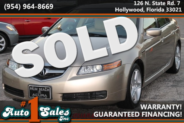 2005 Acura TL  WARRANTY ONLY 45K MILES CARFAX CERTIFIED AUTOCHECK CERTIFIED EXCELLENT SERVIC