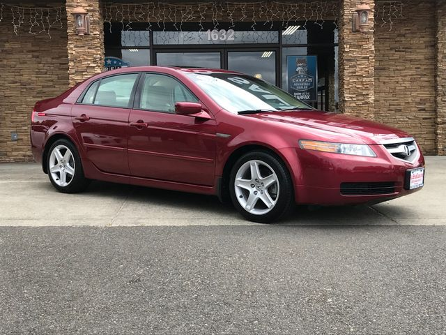 2005 Acura TL Base New Price CARFAX One-Owner Clean CARFAX Red 2005 Acura TL FWD 5-Speed Automa